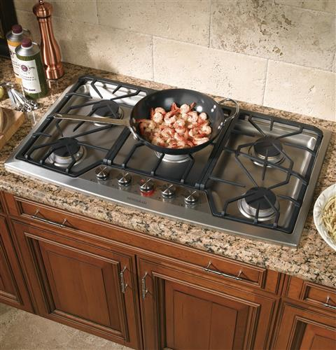 "Thumbnail of Monogram 36"" Stainless Steel Gas Cooktop (Natural Gas) 2"