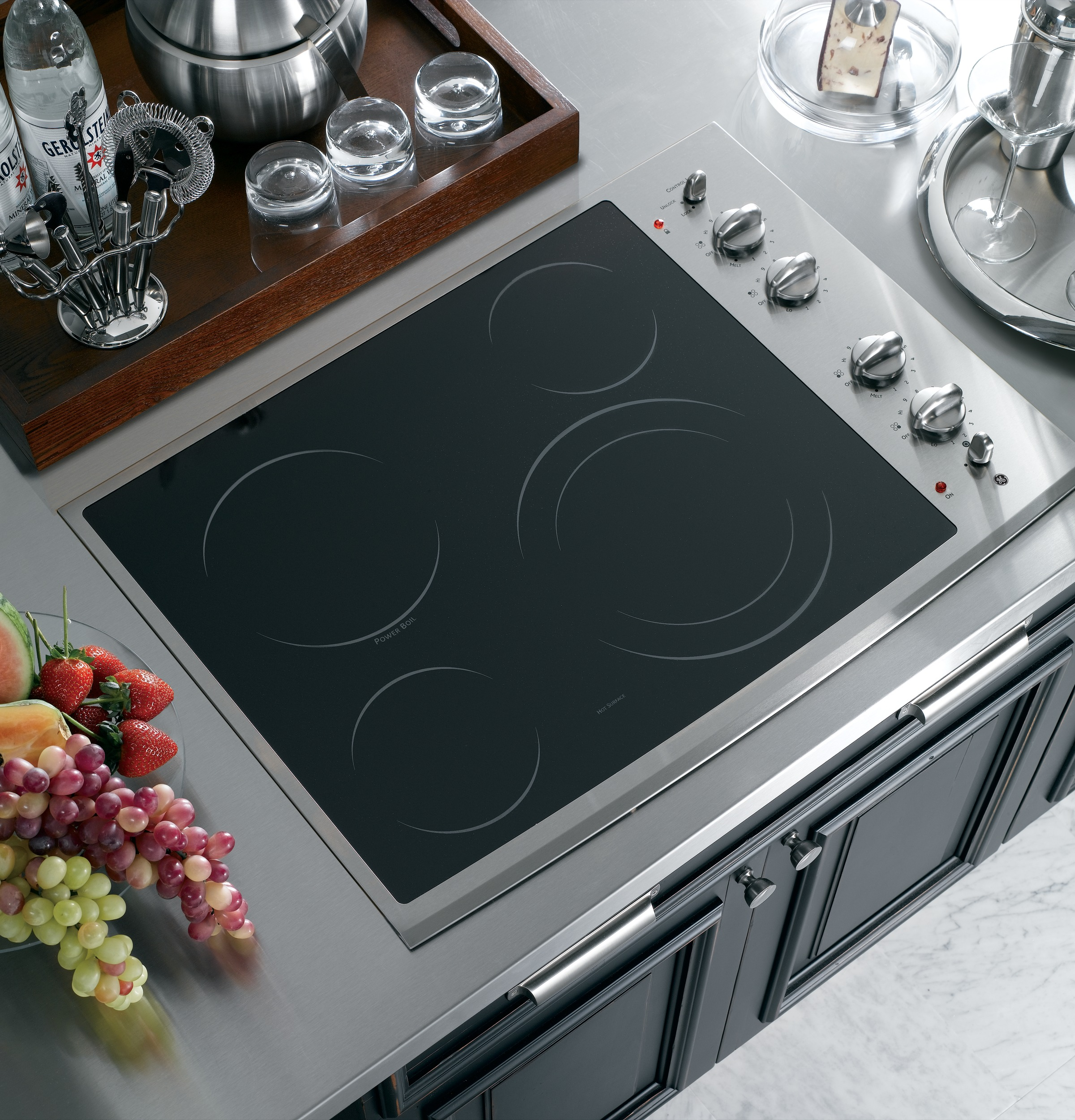 Ge Profile Series 30 Built In Electric Cooktop Pp912smss