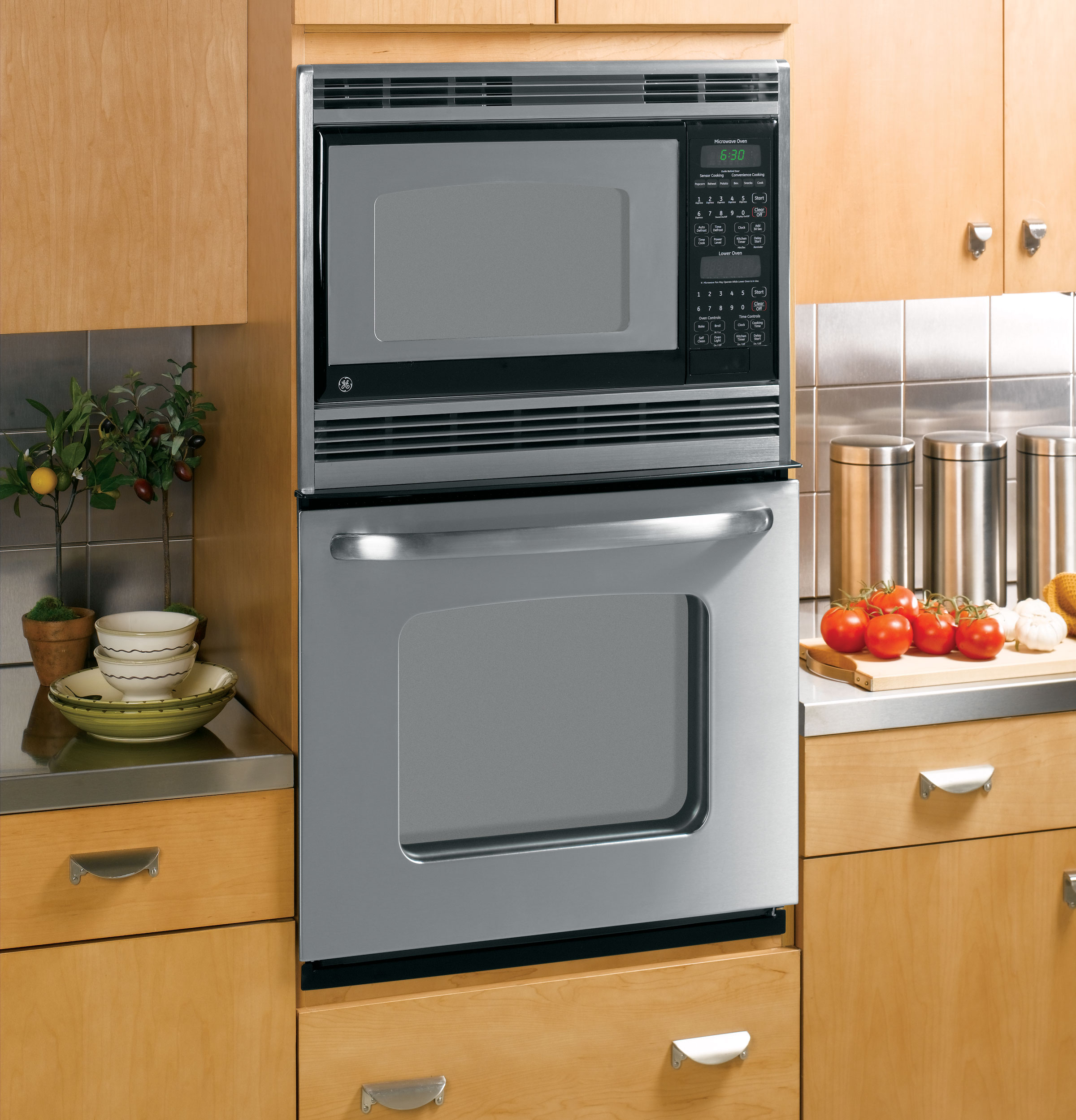 Beautiful Ge 27 Fabulous Built In Double Microwave Thermal Wall Oven