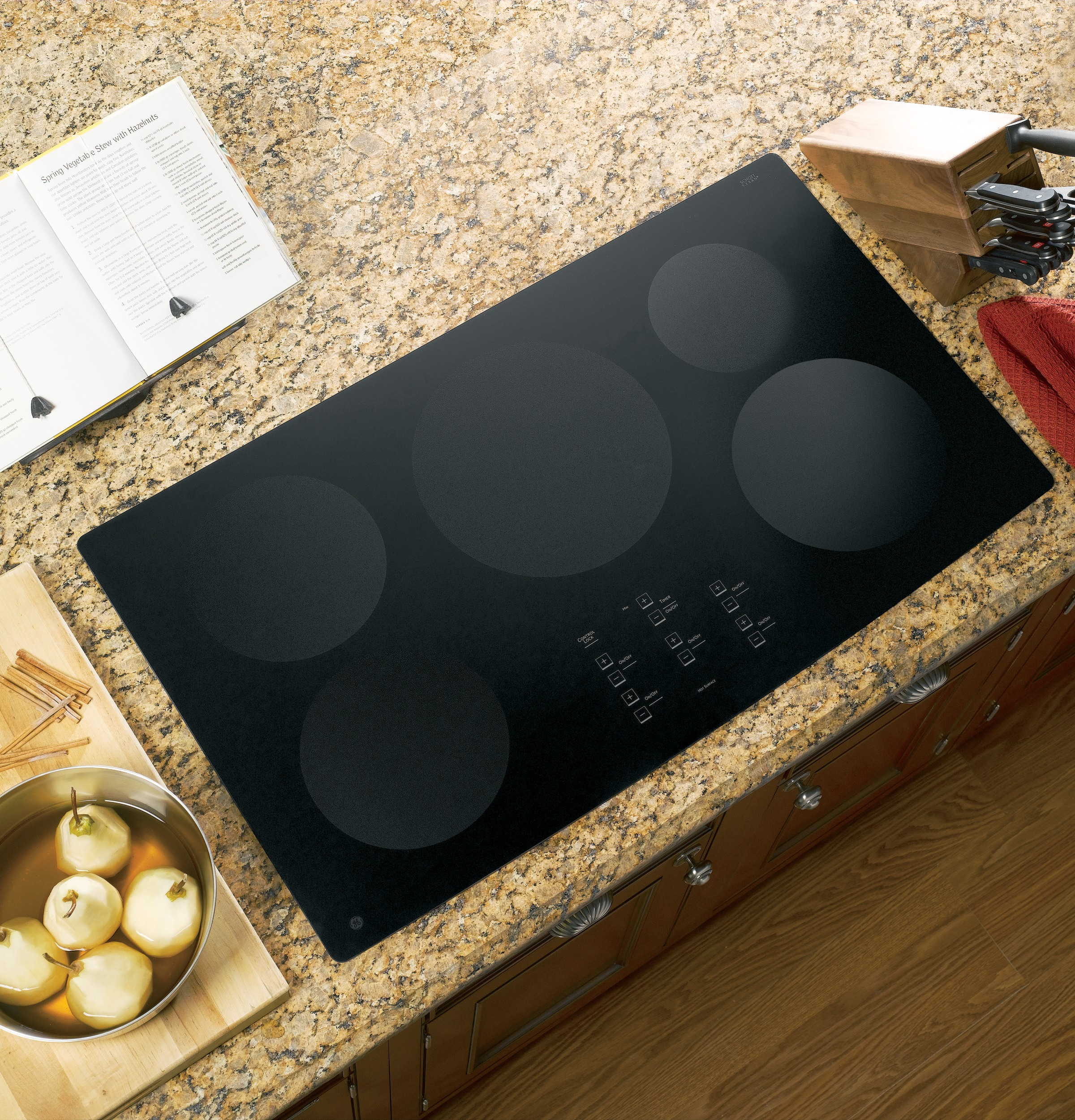 Ge Profile Series 36 Quot Electric Induction Cooktop