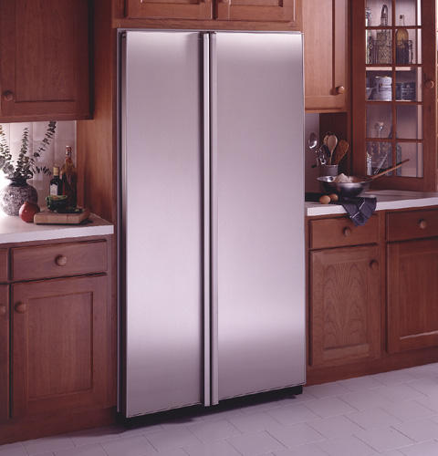 GE Profile™ 23.7 Cu. Ft. CustomStyle™ Side-By-Side Refrigerator with Icemaker