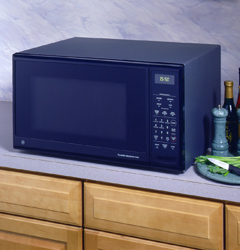 Countertop Oven Full Size : GE? Full-Size Countertop Microwave Oven JE1550GW GE Appliances
