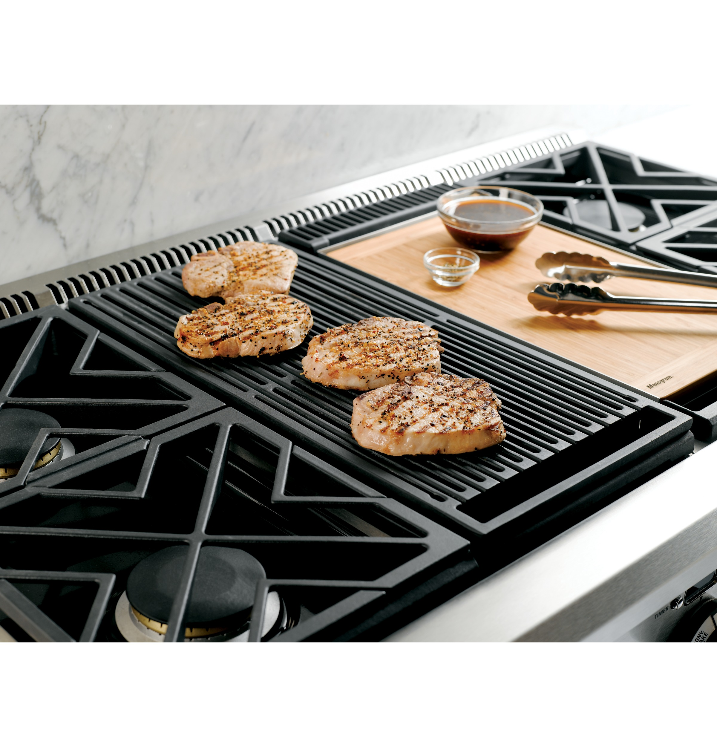 Gas Stove With Griddle ~ Zdp ngpss monogram quot dual fuel professional range