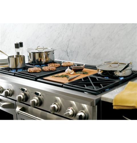 """Thumbnail of Monogram 48"""" Dual-Fuel Professional Range with 4 Burners, Grill, and Griddle (Natural Gas) 18"""
