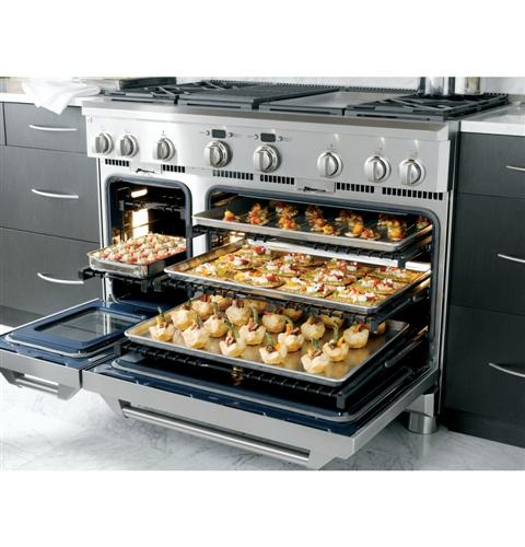 """Thumbnail of Monogram 48"""" Dual-Fuel Professional Range with 4 Burners, Grill, and Griddle (Natural Gas) 20"""