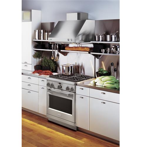 "Thumbnail of Monogram 30"" Dual-Fuel Professional Range with 4 Burners (Natural Gas) 9"