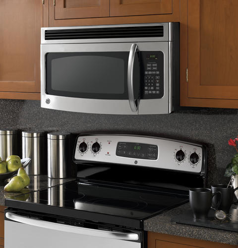 Ge Spacemaker 174 Over The Range Microwave Oven Jvm1540smss