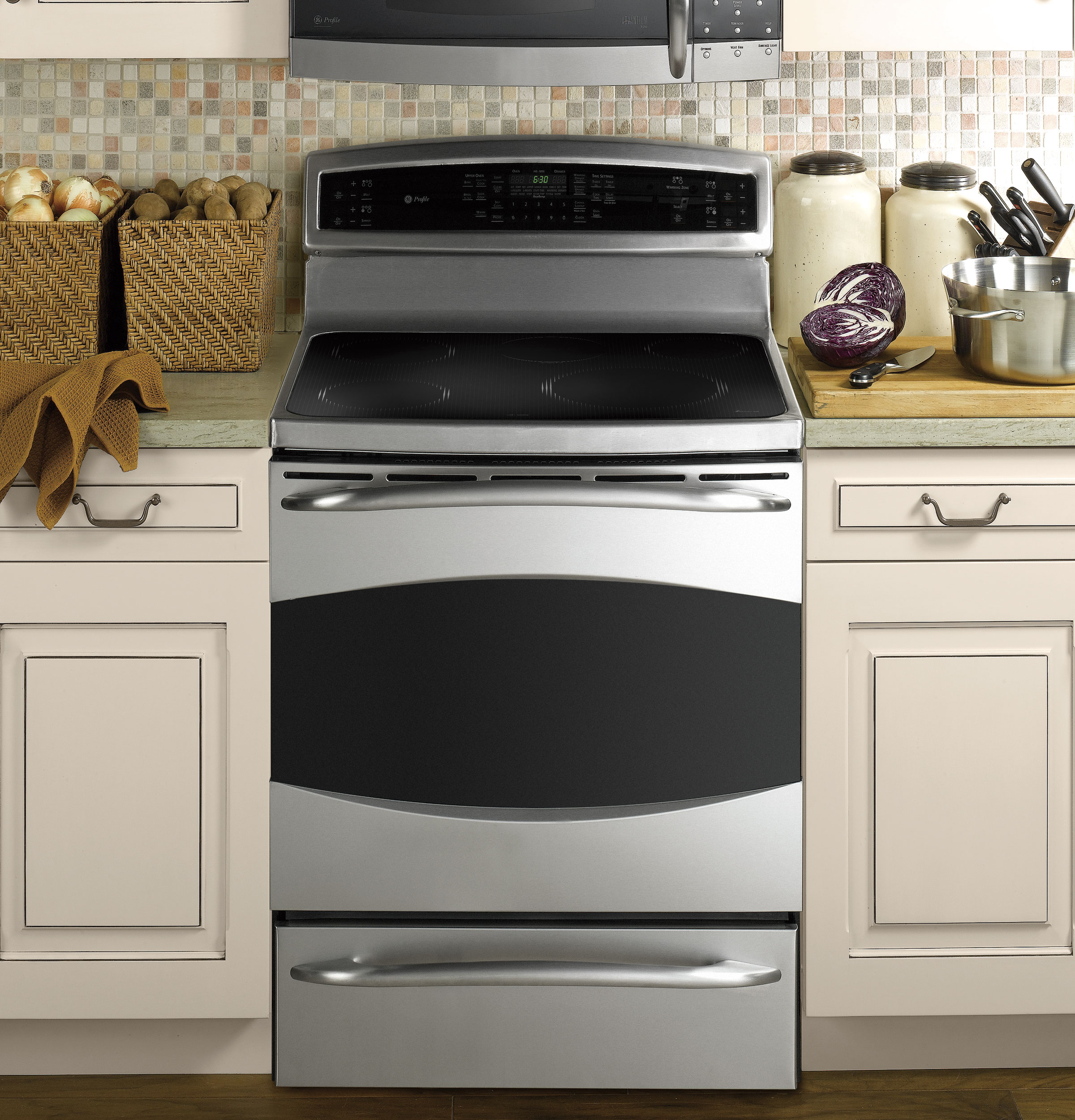 Ge Profile 30 Quot Free Standing Induction Range With Warming