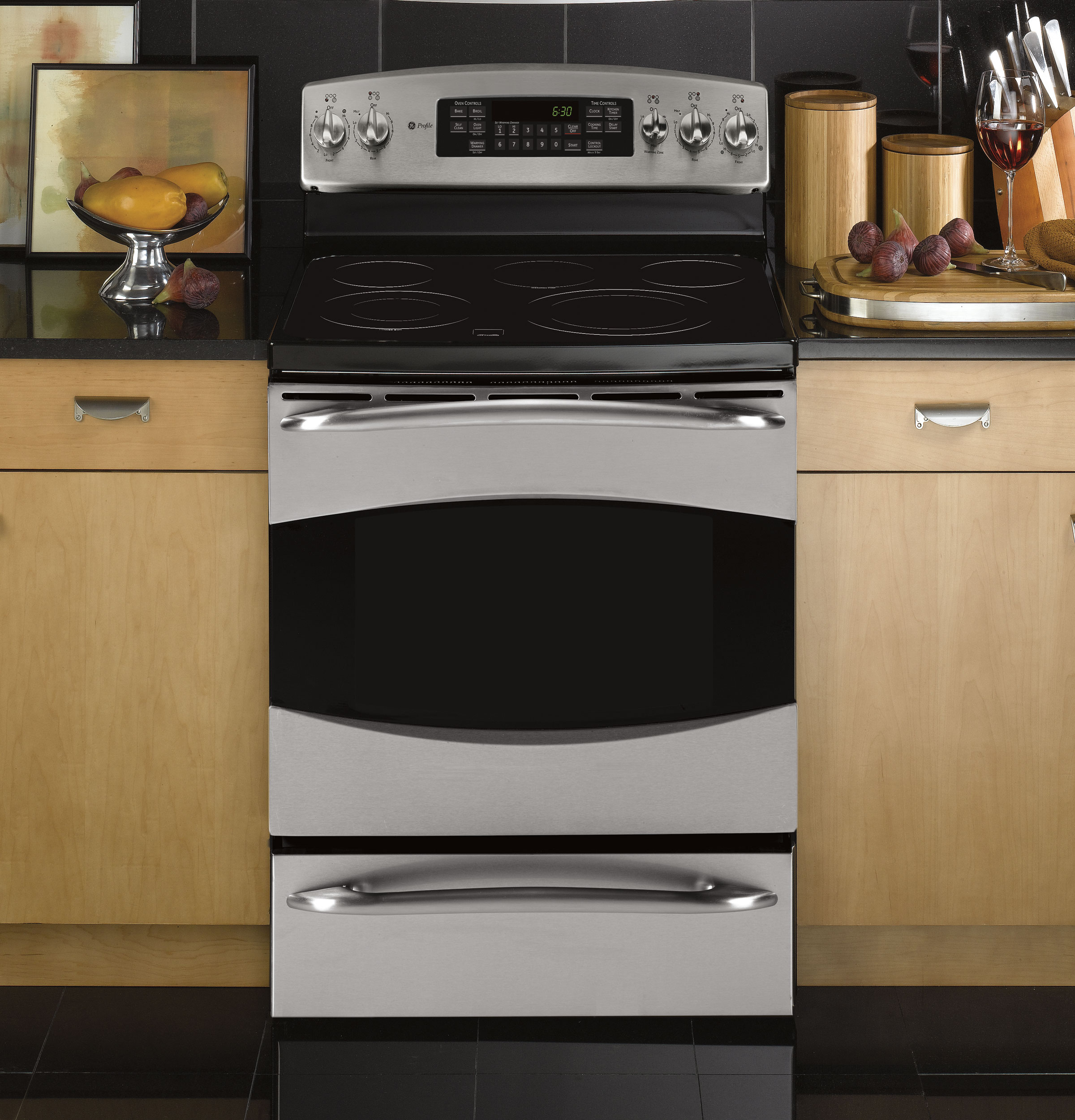 Ge Profile 30 Quot Free Standing Electric Range With Warming
