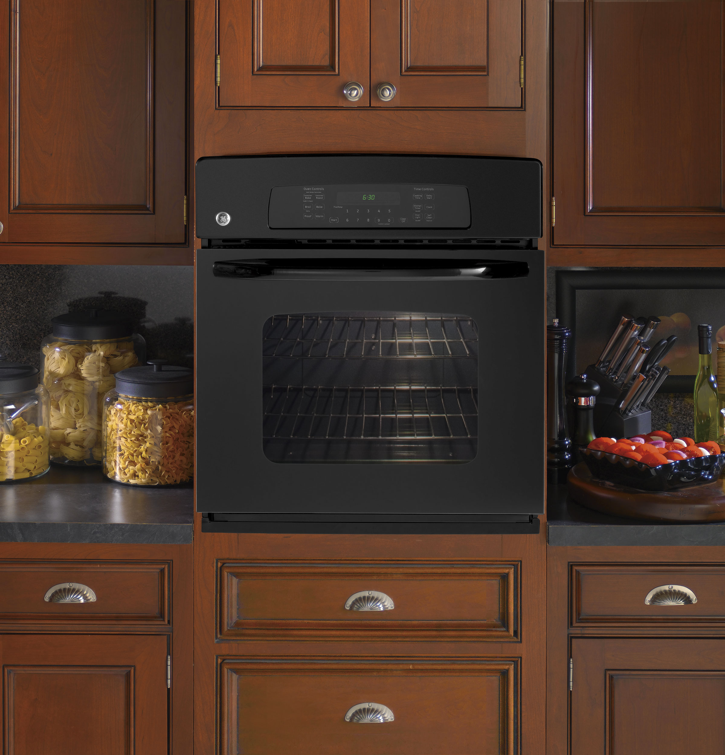 JKP70DPBB by GE - Electric Wall Ovens | Goedekers.com