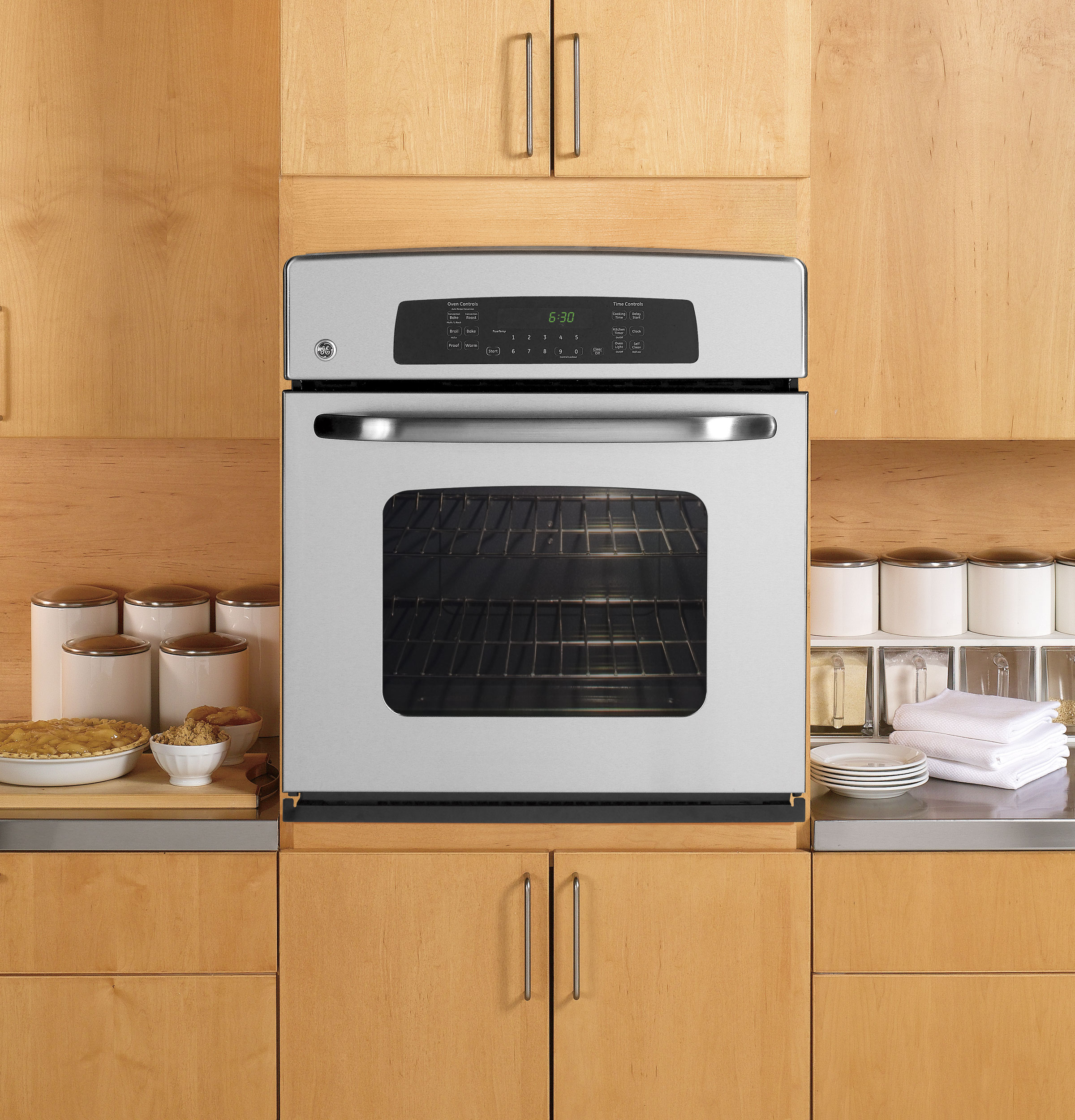 Types Of Wall Ovens ~ Ge quot built in single convection wall oven jkp spss