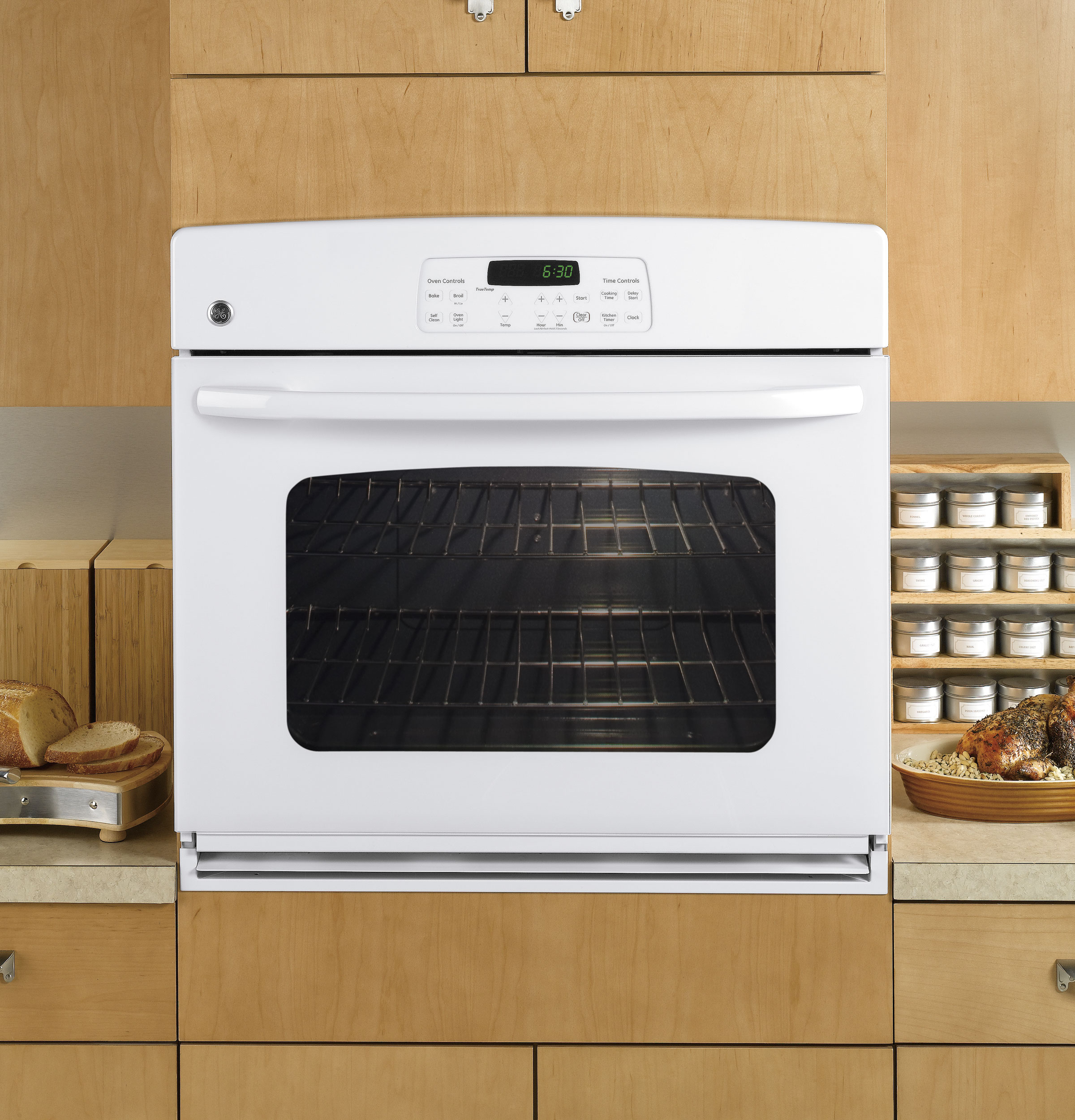 Types Of Wall Ovens ~ Ge quot built in single wall oven jtp dpww appliances