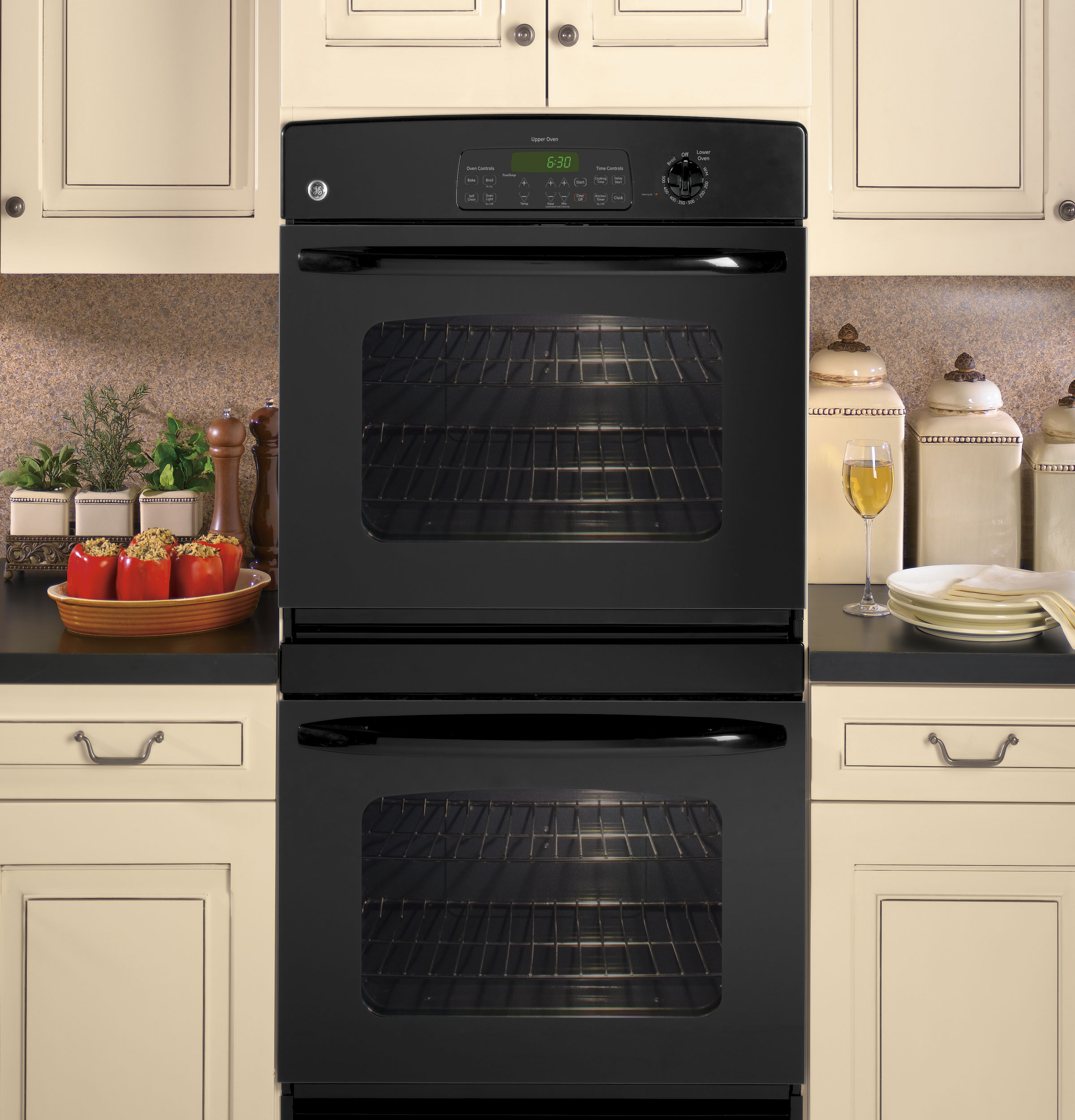 Ge 174 30 Quot Built In Double Wall Oven Jtp35dpbb Ge Appliances