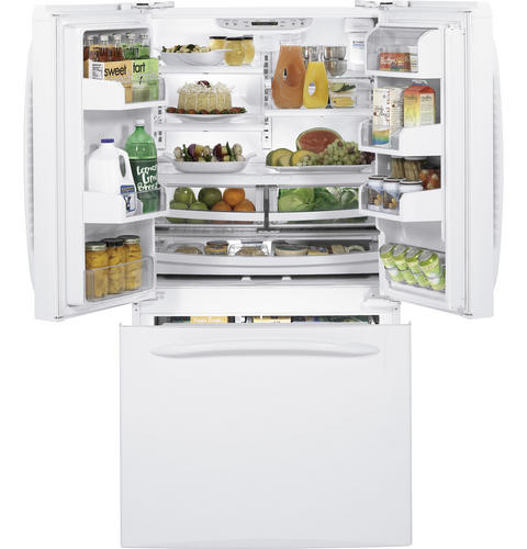GE Profile™ ENERGY STAR® 20.7 Cu. Ft. Counter-Depth French-Door Refrigerator with Icemaker