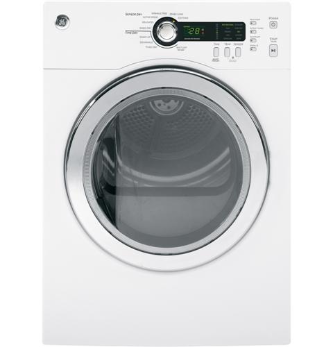 GE®  4.0 Cu.Ft. Capacity Electric Dryer– Model #: DCVH480EKWW
