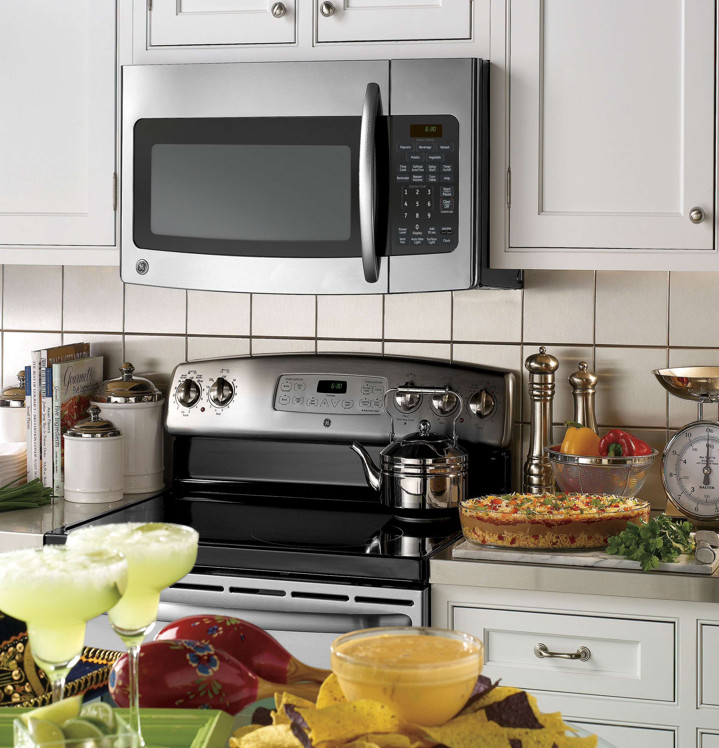 Installation of an over the range microwave - Product Image Product Image