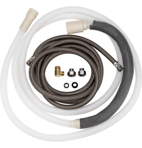 Large-Port 10' Drain Hose Kit (Tall Tub) — Model #: WX28X320