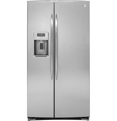 GE Profile™ ENERGY STAR® 25.9 Cu. Ft. Side-by-Side Refrigerator with Dispenser
