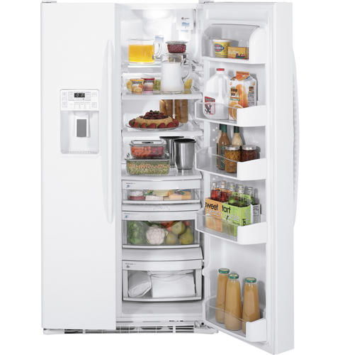 GE Profile™ ENERGY STAR® 29.1 Cu. Ft. Side-by-Side Refrigerator with Dispenser