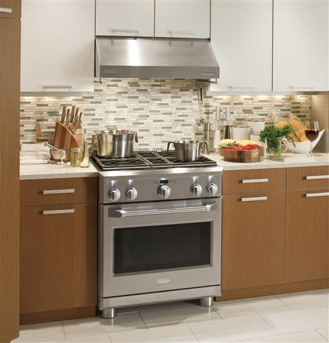 "Thumbnail of Monogram 30"" All Gas Professional Range with 4 Burners (Natural Gas) 4"