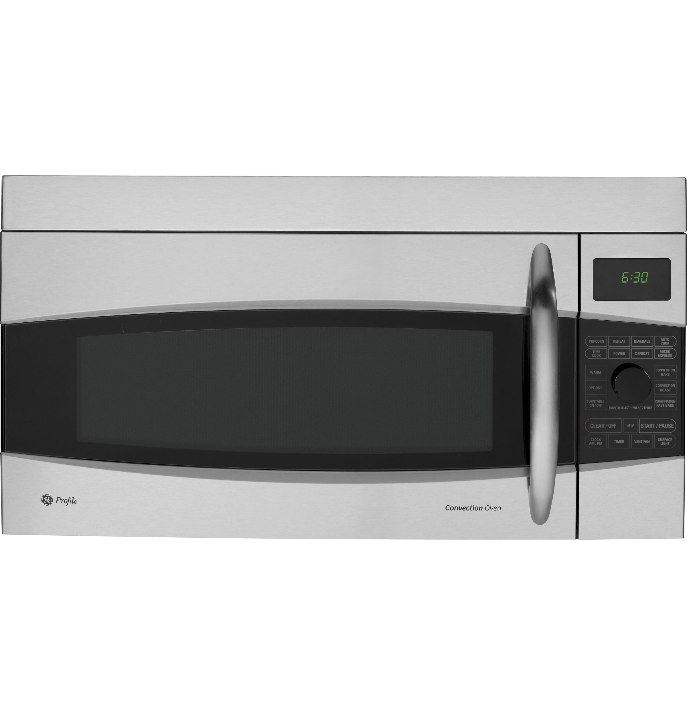 Size Of Microwave Oven Over The Range: GE Profile™ 1.7 Cu. Ft. Convection Over-the-Range