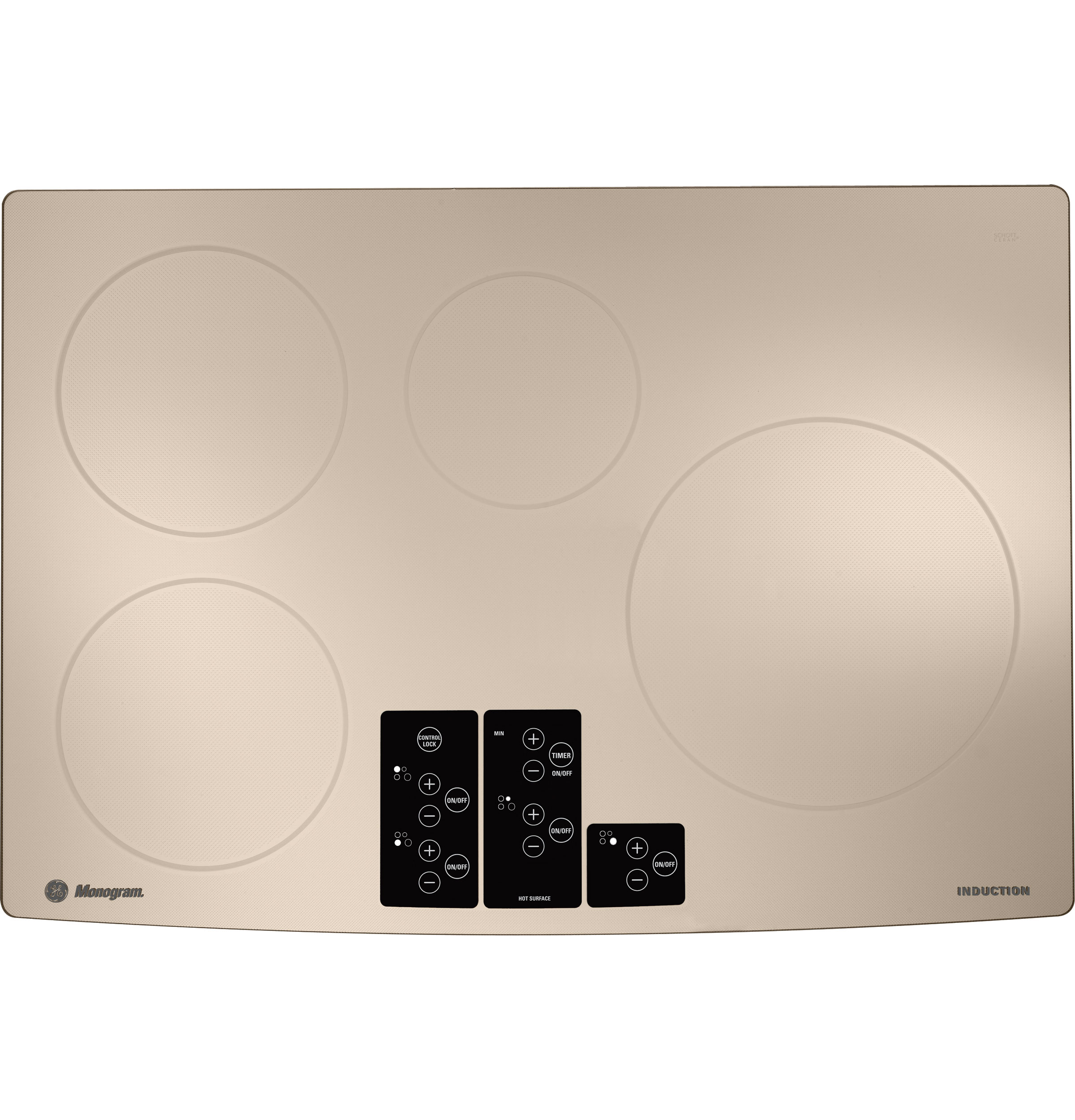 Monogram 30 Induction Cooktop Zhu30rsrss Ge Appliances Cooker Circuit Board Buy Product Image