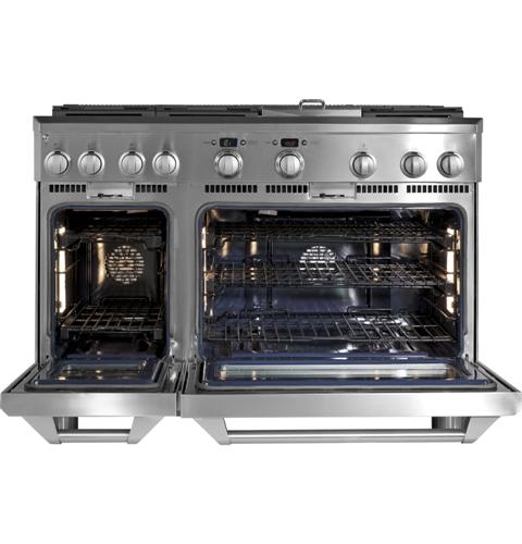 "Thumbnail of Monogram 48"" All Gas Professional Range with 6 Burners and Griddle (Natural Gas) 14"