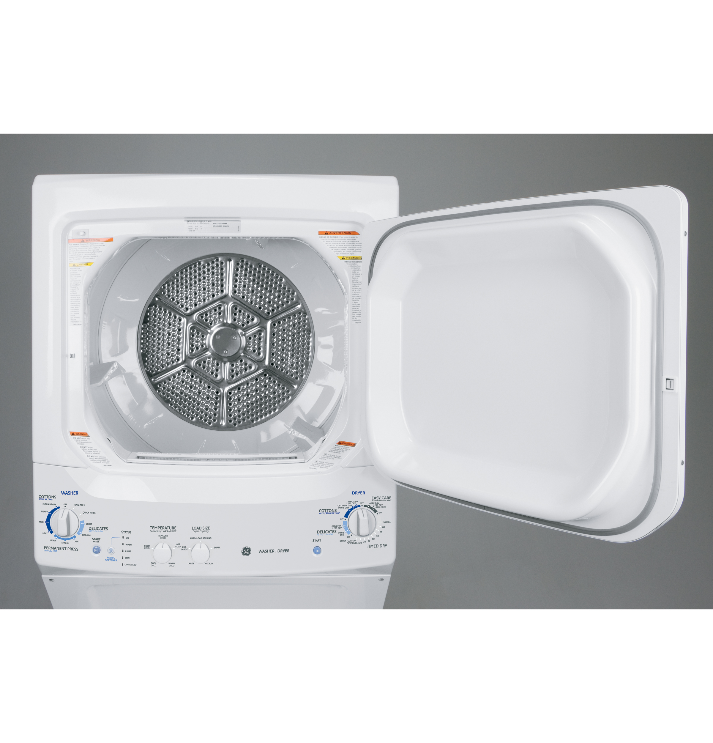 Ge Unitized Spacemaker 32 Doe Cu Ft Washer And 59 Replacement Parts Motor Repalcement Diagram Product Image