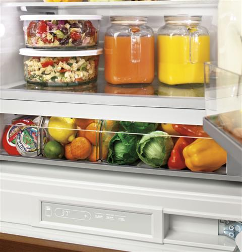 "Thumbnail of Monogram 30"" Integrated Glass-Door Refrigerator for Single or Dual Installation 3"