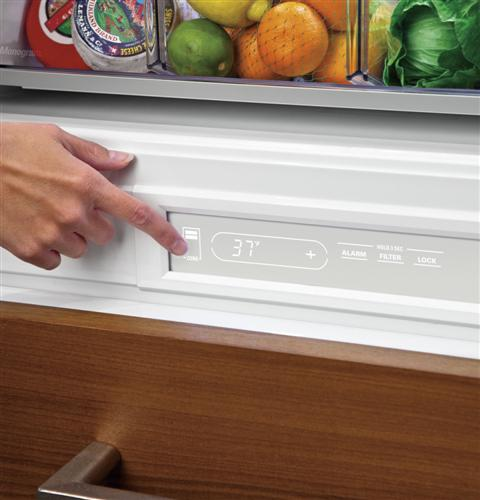 "Thumbnail of Monogram 30"" Integrated Glass-Door Refrigerator for Single or Dual Installation 4"