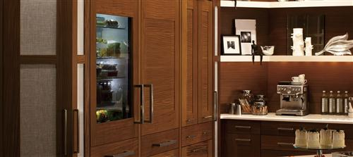 "Thumbnail of Monogram 30"" Integrated Glass-Door Refrigerator for Single or Dual Installation 7"