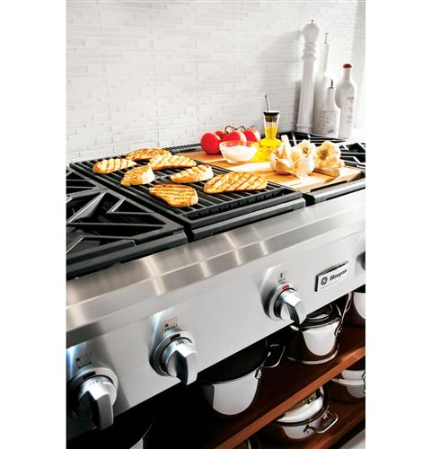 "Thumbnail of Monogram 48"" All Gas Professional Range with 6 Burners and Griddle (Natural Gas) 21"