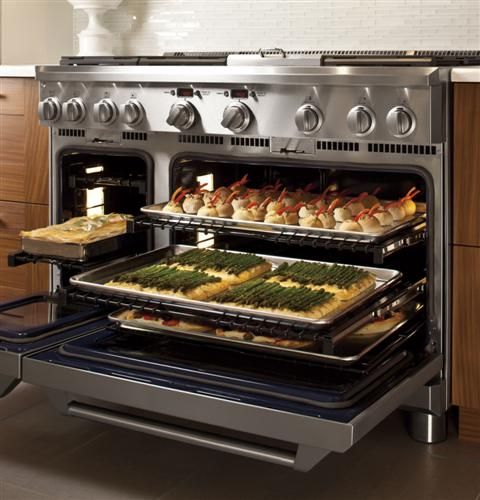 "Thumbnail of Monogram 48"" All Gas Professional Range with 6 Burners and Griddle (Natural Gas) 9"