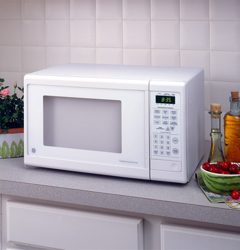 Countertop Microwave No Turntable : GE? Countertop Turntable Microwave Oven JE835WW GE Appliances