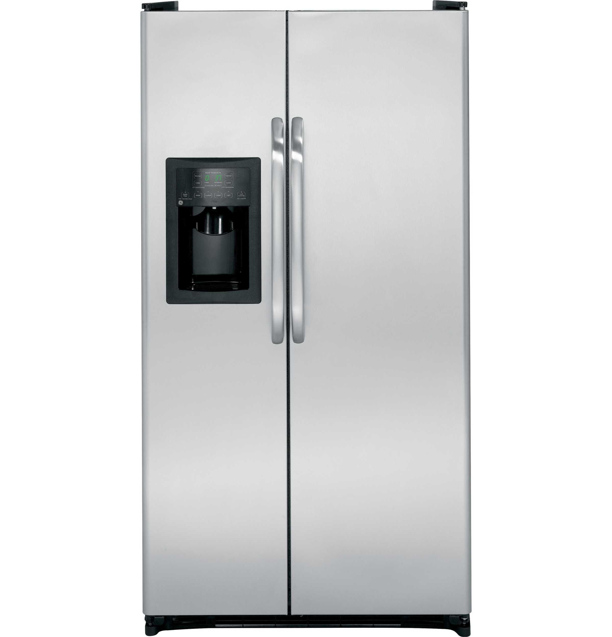 Ge 253 cu ft side by side refrigerator gsh25jsdss ge appliances product image publicscrutiny Gallery