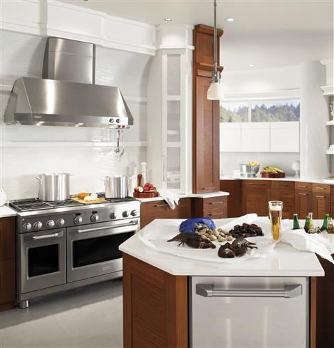 """Thumbnail of Monogram 48"""" Dual-Fuel Professional Range with 4 Burners, Grill, and Griddle (Natural Gas) 22"""