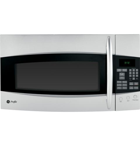 GE Profile Spacemaker® 1.9 Cu. Ft. Over-the-Range Microwave Oven with Recirculating Venting