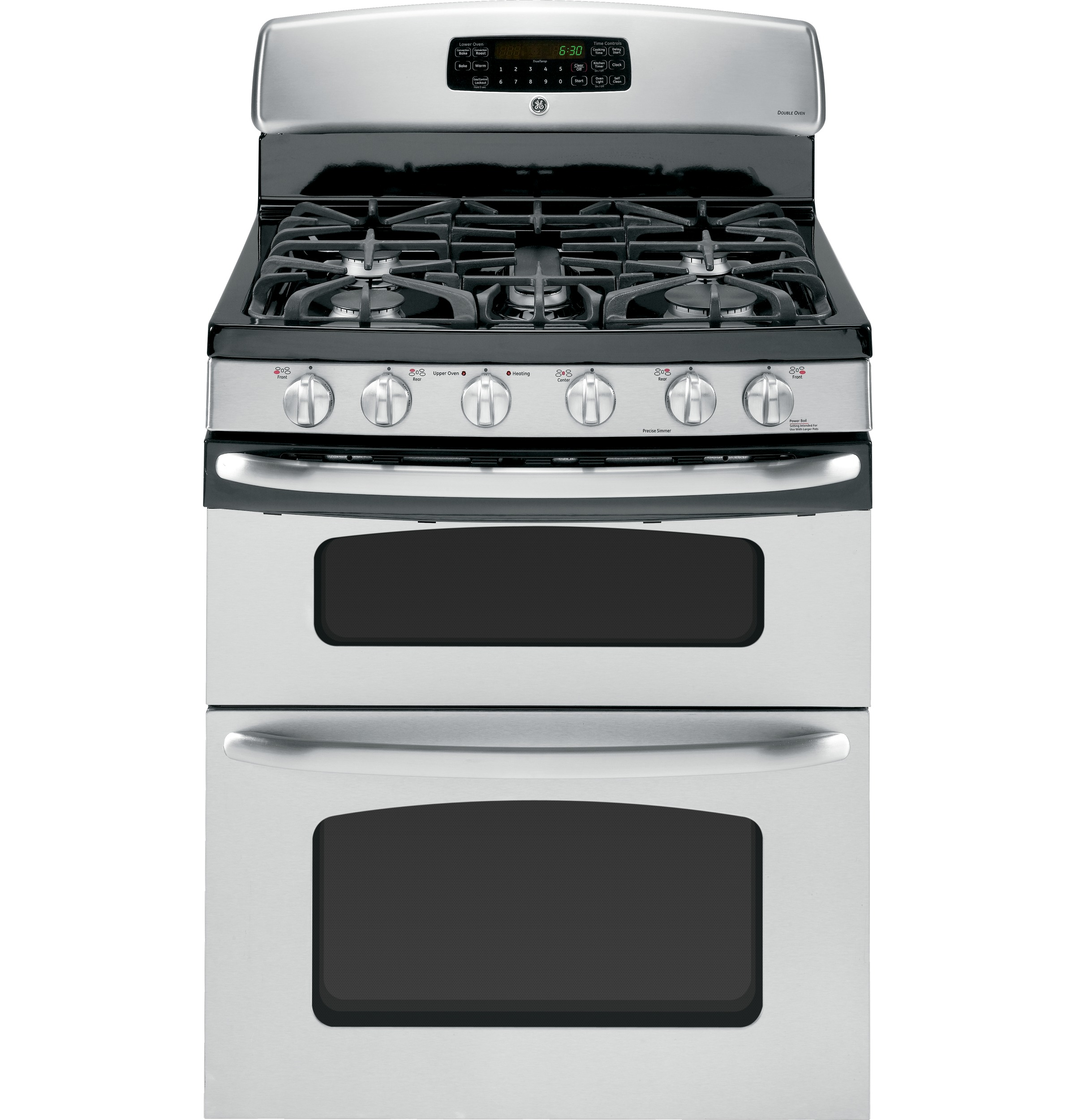 Ge 30 Free Standing Gas Double Oven Range With