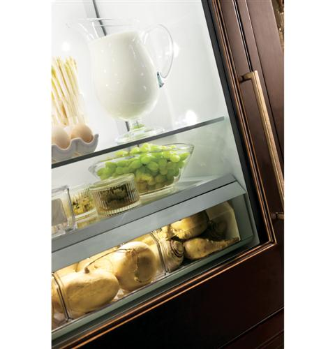 "Thumbnail of Monogram 30"" Integrated Glass-Door Refrigerator for Single or Dual Installation 8"
