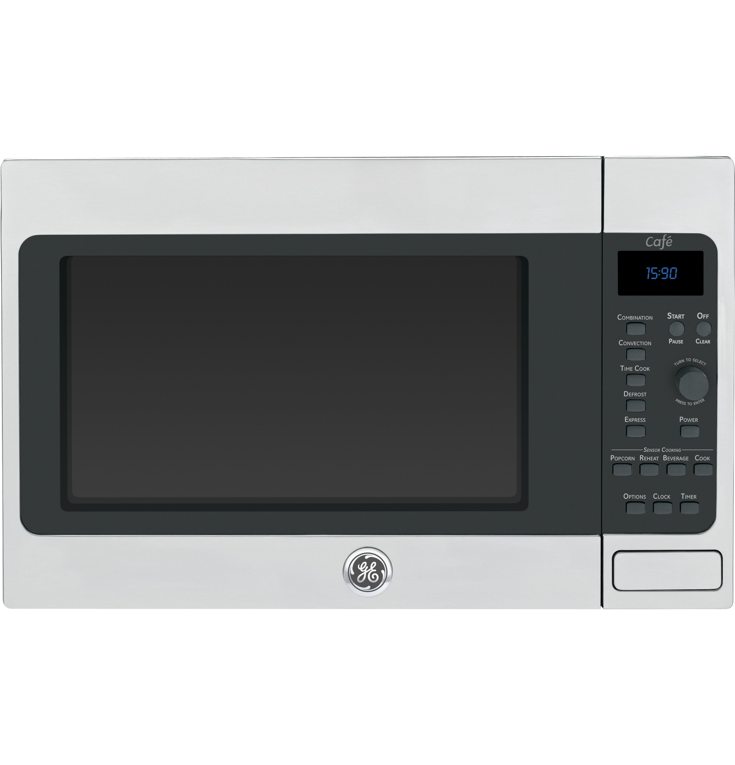 Countertop Convection Oven With Microwave : ... Ft. Countertop Convection/Microwave Oven CEB1590SSSS GE Appliances