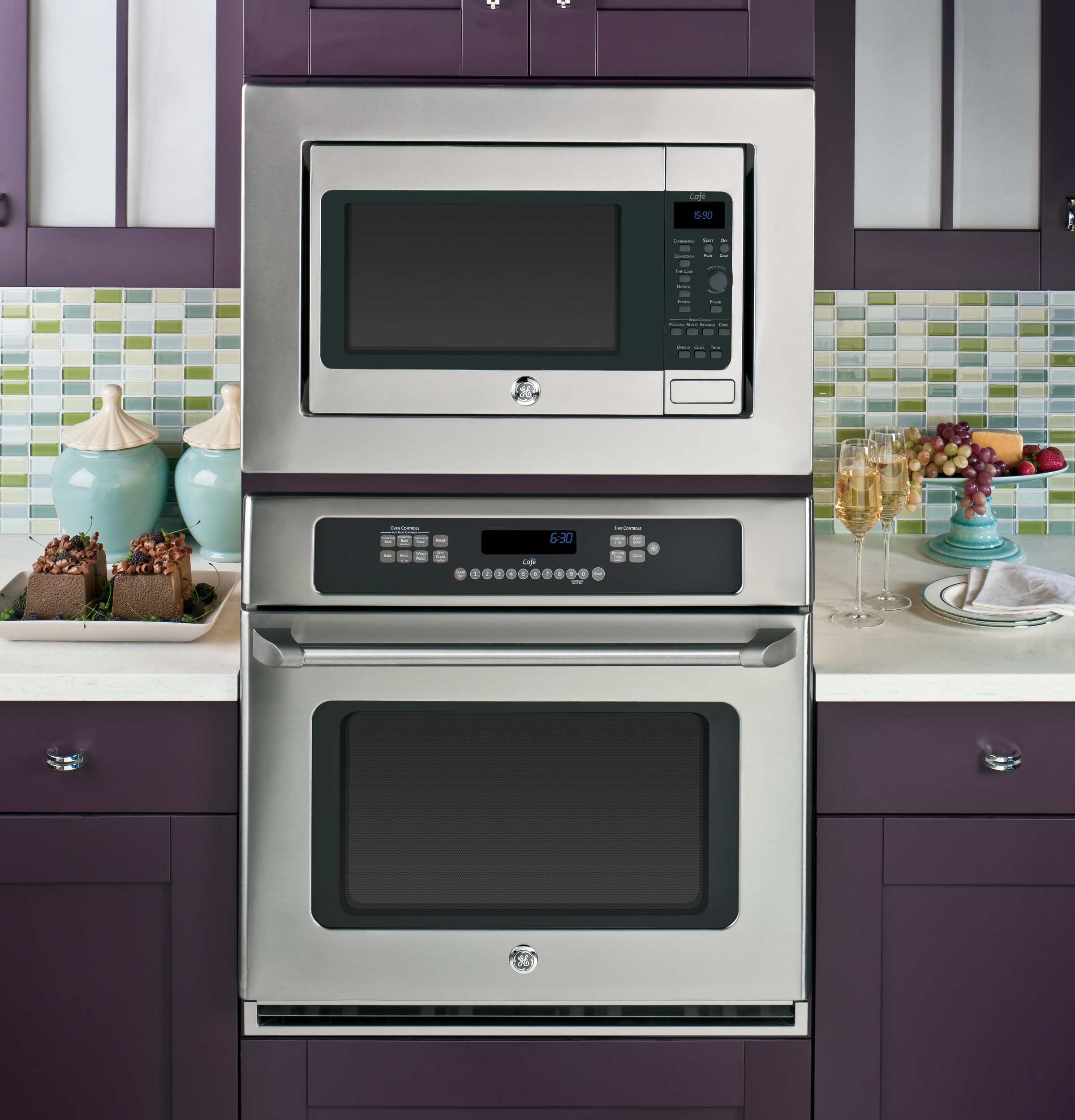 Ge Caf 233 Series 1 5 Cu Ft Countertop Convection