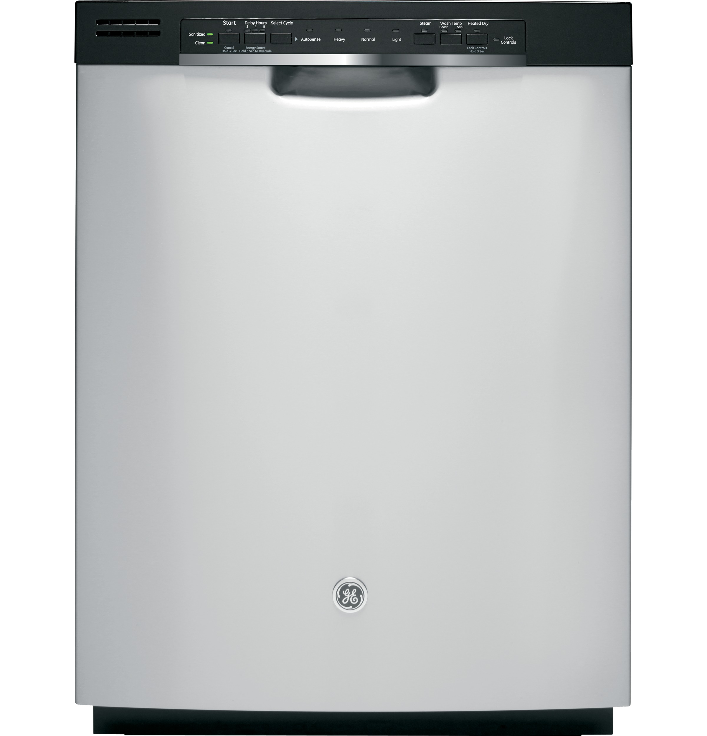 Ge 174 Hybrid Stainless Steel Interior Dishwasher With Front