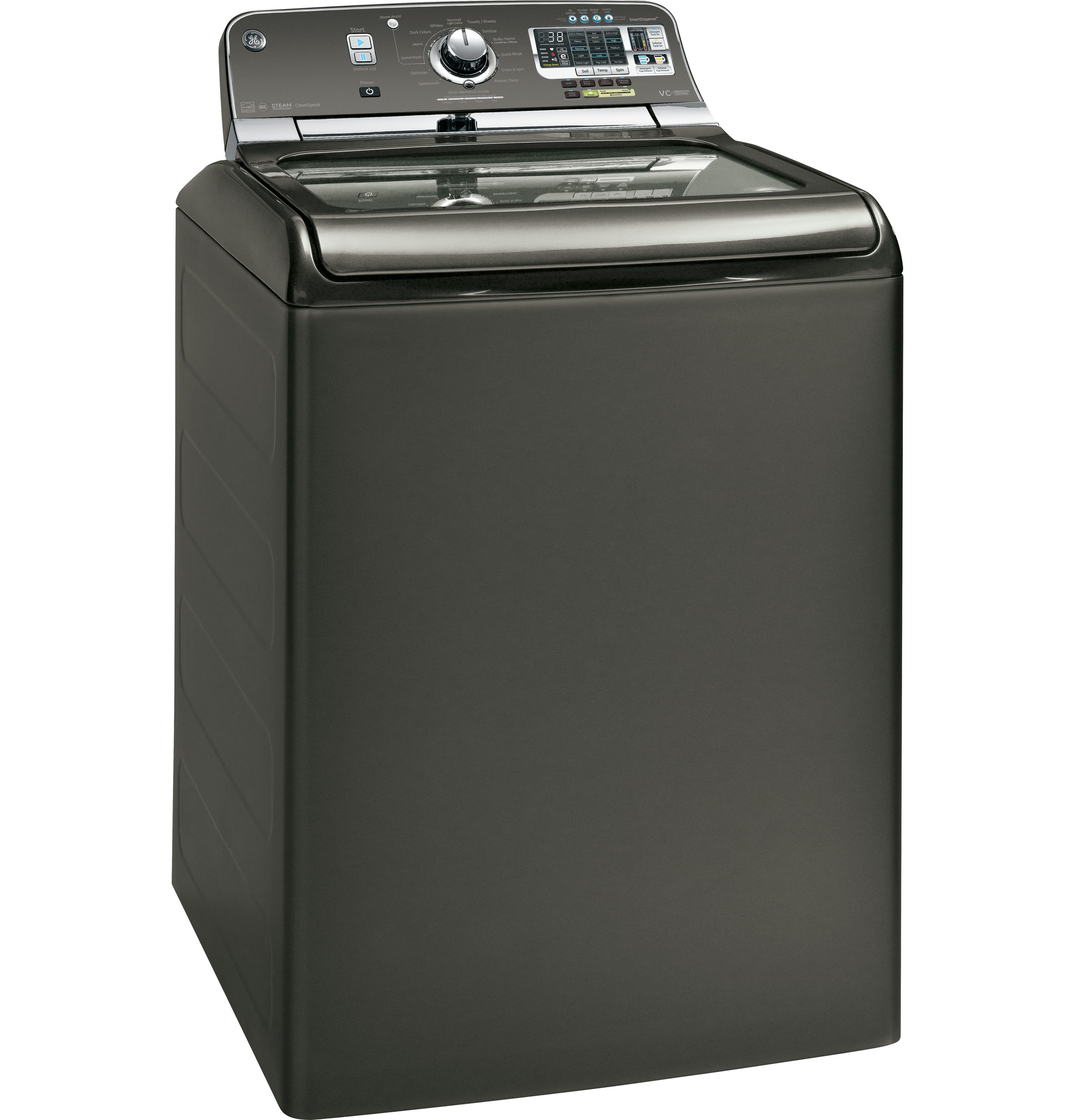 Ge 50 Doe Cu Ft Capacity Washer With Stainless Steel Basket And Semi Automatic Washing Machine Wiring Diagram Pdf Product Image