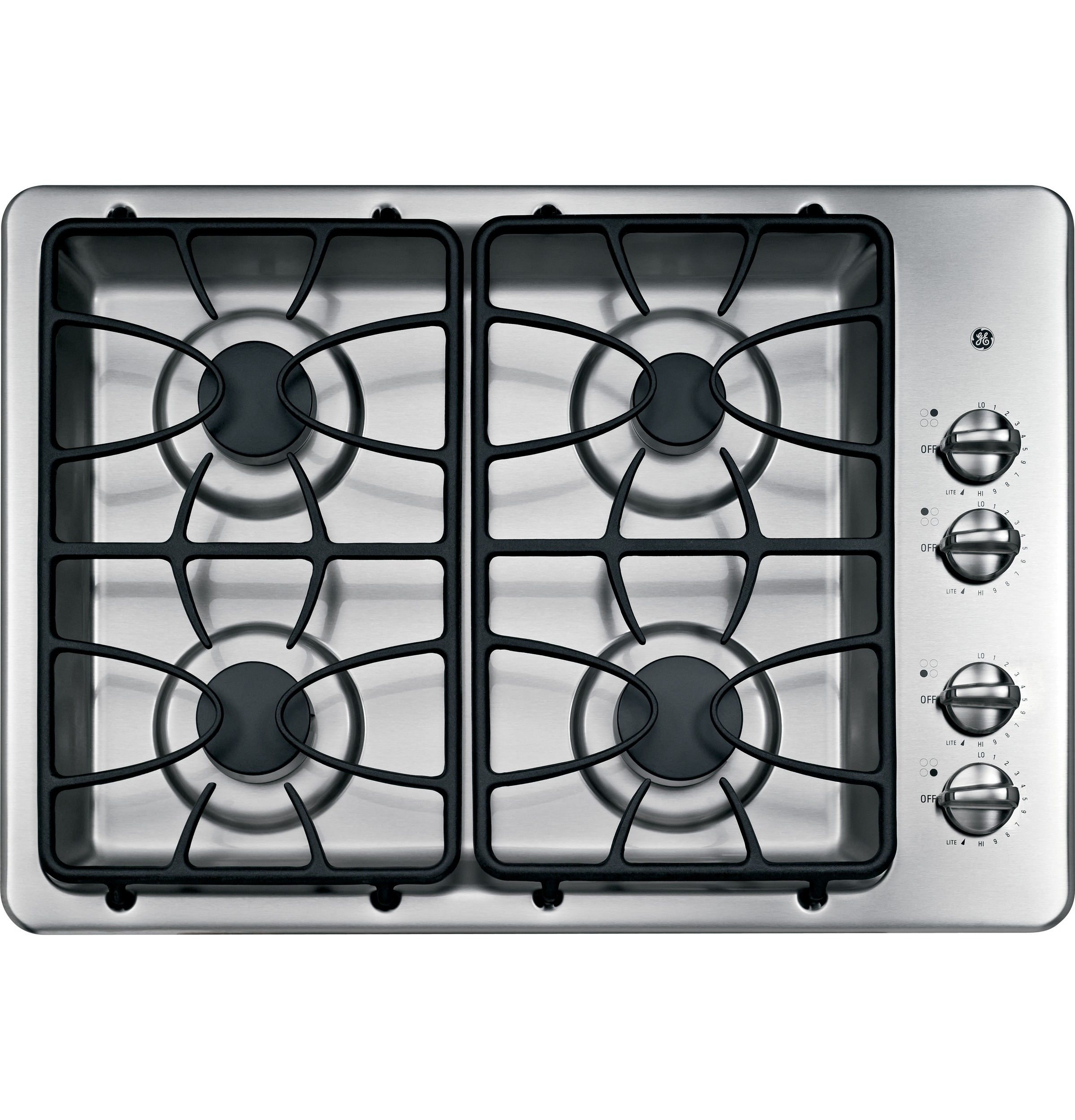 Kitchen gas stove top view - Product Image