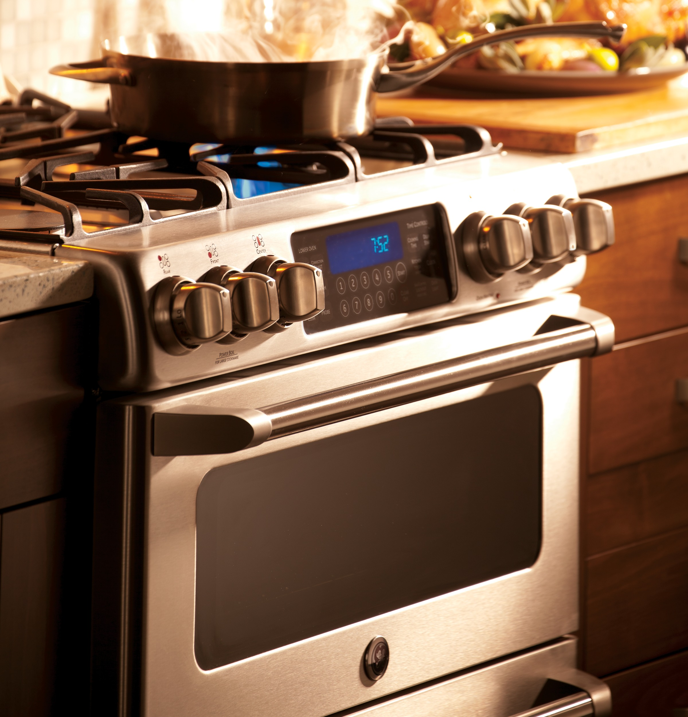 Wall oven under cooktop - 1 Of 12