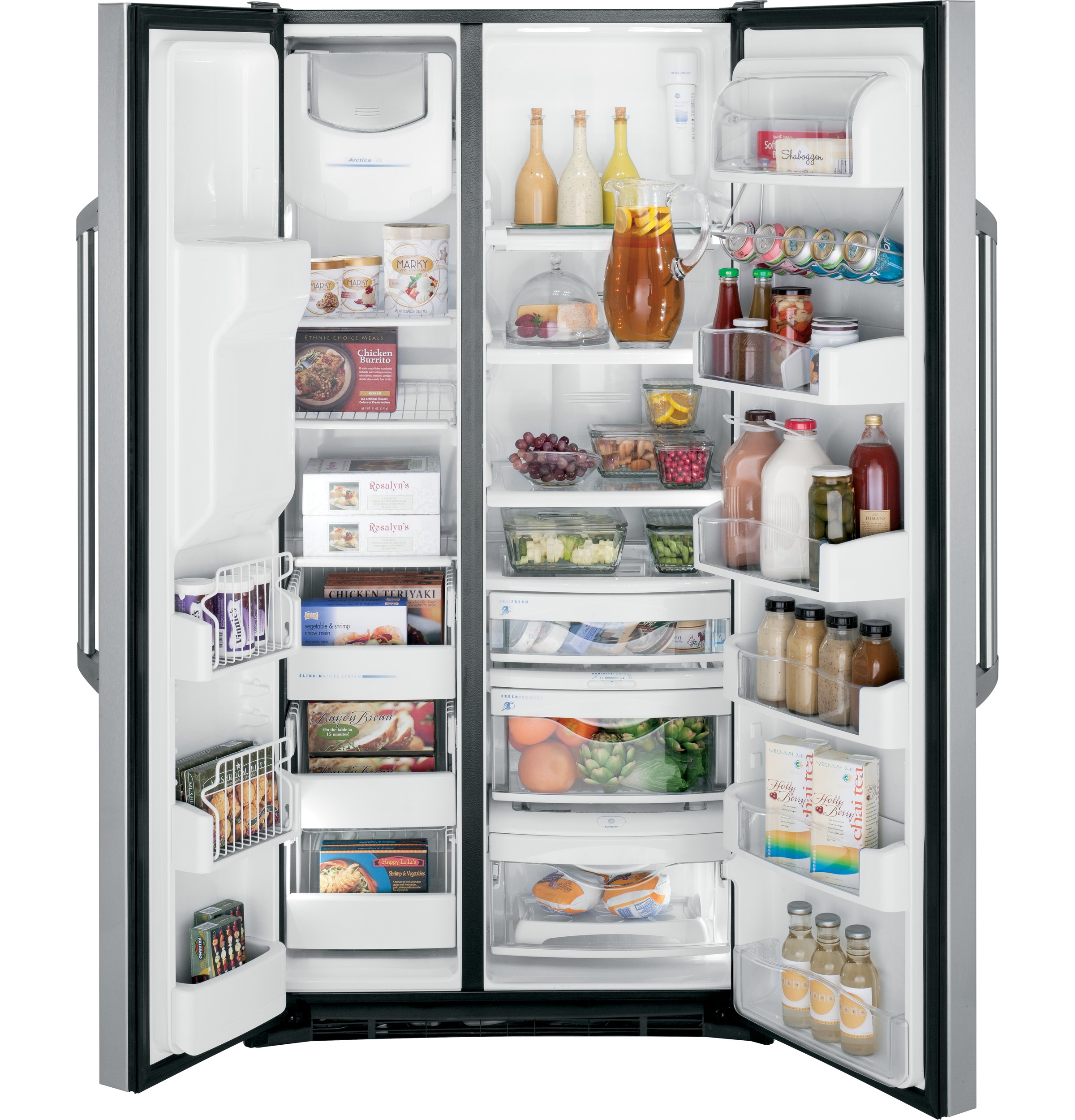 Ge Caf Series 246 Cu Ft Counter Depth Side By Refrigerator Had A Guy Ask Me To Look At The Electrical On His Sidebyside Product Image