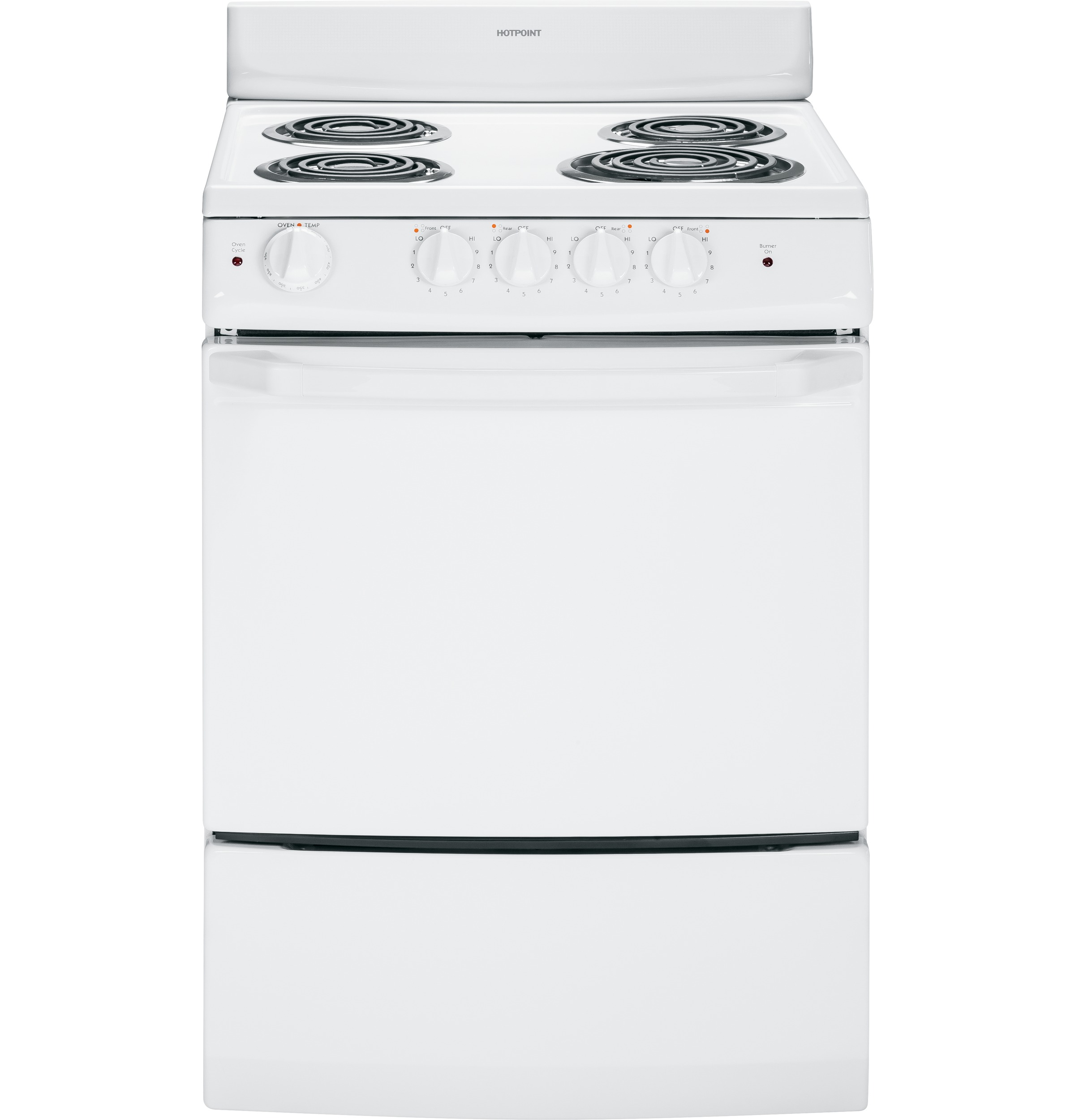 Hotpoint 24 Electric Free Standing Range Ra724kwh Ge Appliances Wiring For 220 Stove Product Image