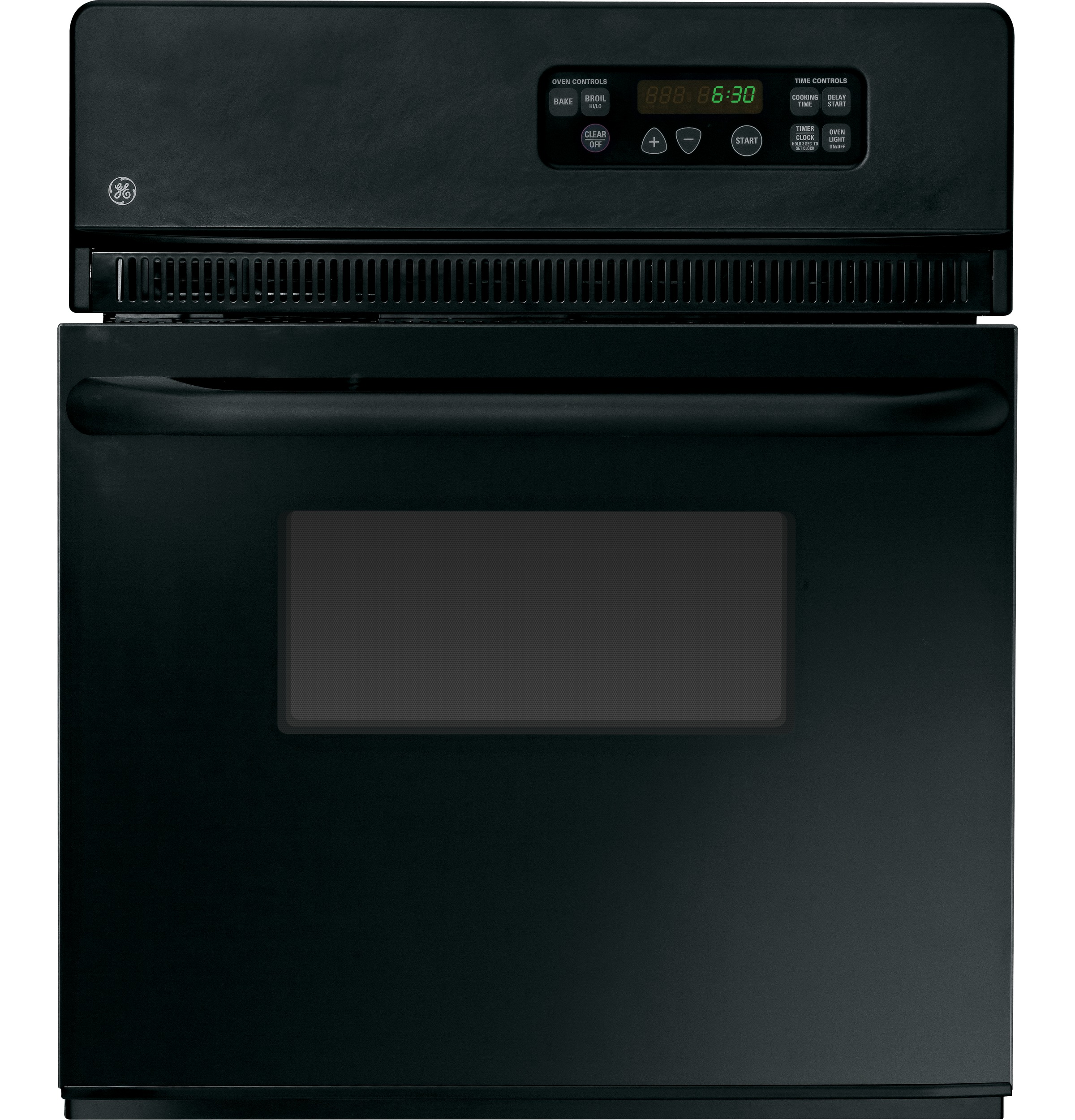Ge 24 electric single standard clean wall oven jrs06bjbb ge product image publicscrutiny Gallery
