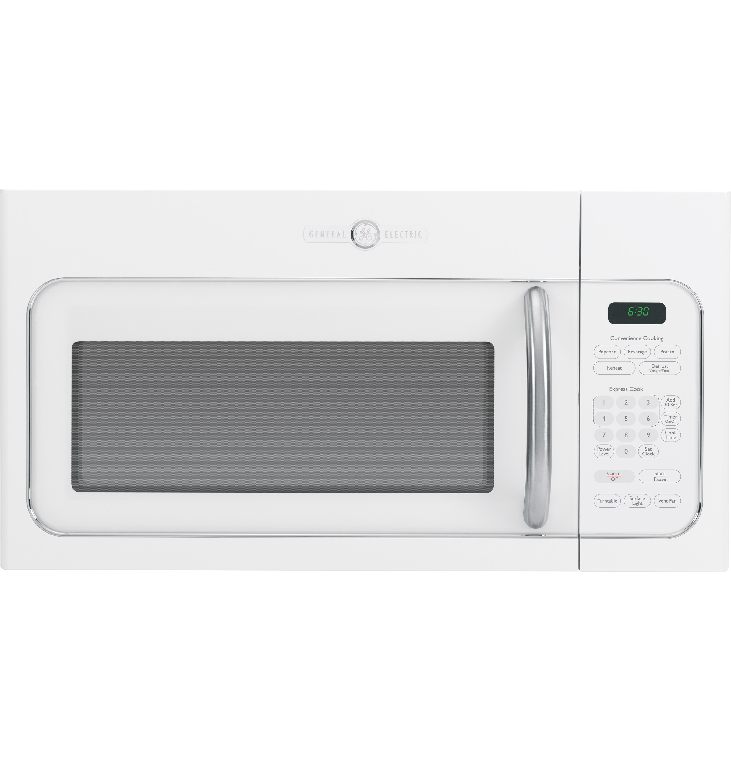 ge artistry series 1 6 cu ft over the range microwave oven avm4160dfws ge appliances. Black Bedroom Furniture Sets. Home Design Ideas