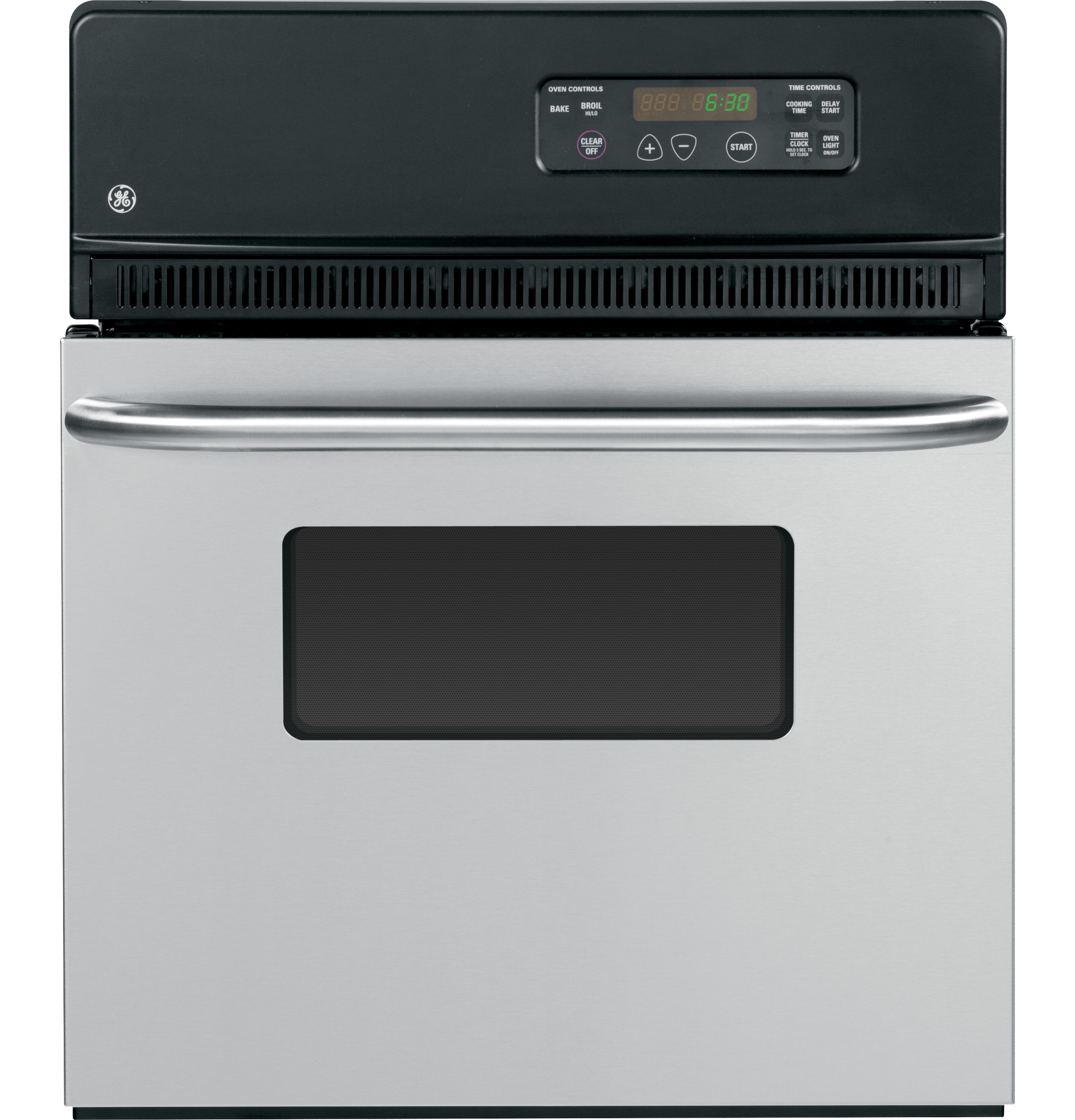 Ge 24 Electric Single Standard Clean Wall Oven Jrs06skss Vehicle Supply Equipment On Without Hard Wiring Product Image